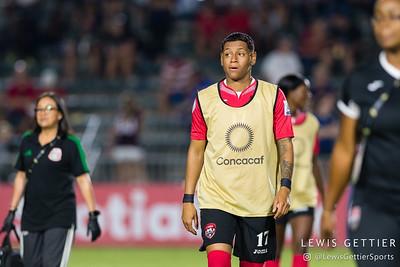 Trinidad & Tobago defender Lauryn Hutchinson (17)