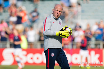 United States goalkeeping coach Graeme Abel