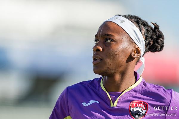 Trinidad & Tobago goalkeeper Kimika Forbes (1)