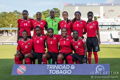 Trinidad & Tobago starting eleven