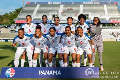 Panama starting eleven