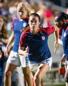 United States defender Kelley O'Hara (5)