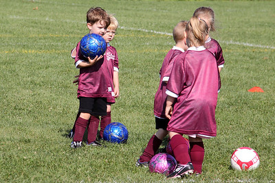 Connor Soccer Game 08/22/09