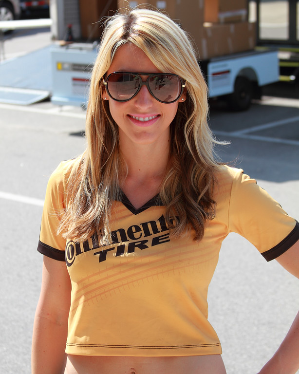 Continental Tire Girl 2012 Grand-Am Continental Tire Racing Barber Motorsports Park Alabama