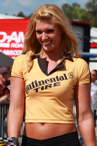 Continental Tire Girl 2012 Grand-Am Racing Victory Lane Barber Motorsports Park Alabama