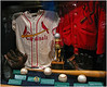 Stan Musial uniforms, bats and balls for the 400th home run, 3000th hit, 1357 extra base hit and bat used for 3431st hit