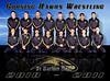 Corning Hawks Varsity Wrestlers, 2010 - 2011.