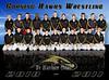 Corning Hawks Junior Varsity Wrestlers, 2010 - 2011.
