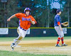 Cortland Crush Patrick Messinger (14) heads for Home Base against the Syracuse Salt Cats on Greg's Field at Beaudry Park in Cortland, New York on Wednesday, June 29, 2016. Cortland won 5-4 in 13 innings.