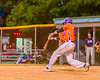 Cortland Crush Aaron Edelmon (62) hits the ball against the Syracuse Salt Cats on Greg's Field at Beaudry Park in Cortland, New York on Wednesday, June 29, 2016. Cortland won 5-4 in 13 innings.