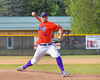Cortland Crush Dylan Crossley (55) pitching against the Sherrill Silversmiths on Greg's Field at Beaudry Park in Cortland, New York on Thursday, July 21, 2016.