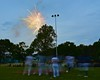 Fireworks after the Cortland Crush played the Syracuse Junior Chiefs on Greg's Field at Beaudry Park in Cortland, New York on Friday June 5, 2015. Cortland won 5-2.