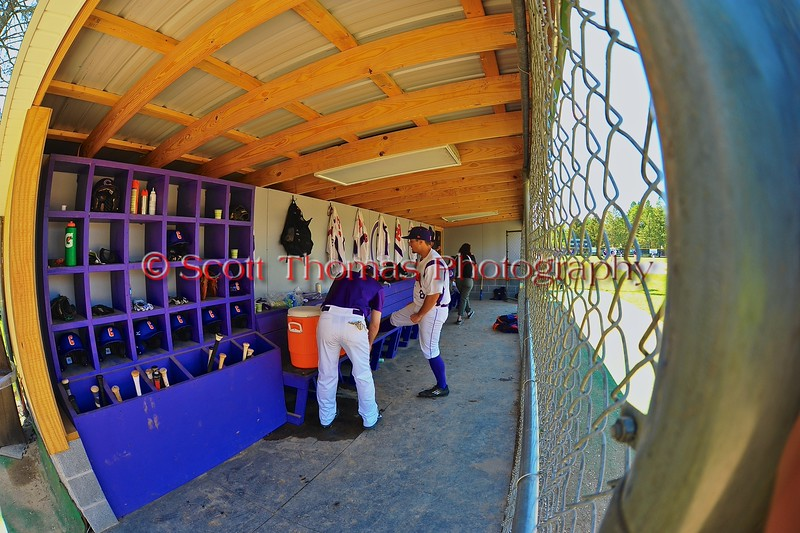 Cortland Crush dugout on Greg's Field at Beaudry Park in Cortland, New York on Sunday June 7, 2015.