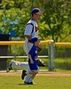 Cortland Crush Matthew Alberino (5) with his Crown City Little Leaguer on Greg's Field at Beaudry Park in Cortland, New York on Sunday June 7, 2015.