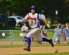 Cortland Crush Wesley Burghardt (8) running the bases against the Syracuse Junior Chiefs on Greg's Field at Beaudry Park in Cortland, New York on Sunday June 7, 2015. Syracuse won 11-8.