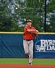 Cortland Crush Matthew Alberino (5) throwing the ball against the Syracuse Salt Cats in Syracuse, New York on Wednesday June 10, 2015.  Syracuse won 5-2.