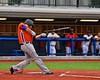 Cortland Crush Zephan Kash's (25) bat slips away at bat against the Syracuse Salt Cats in Syracuse, New York on Wednesday June 10, 2015.  Syracuse won 5-2.