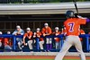 Cortland Crush players watch form the Dugout in a game against the Syracuse Junior Chiefs in Syracuse, New York on Friday June 19, 2015. Cortland won 7-5.