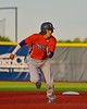 Cortland Crush Jose Arebalo (7) running the bases against the Syracuse Junior Chiefs in Syracuse, New York on Friday June 19, 2015. Cortland won 7-5.