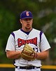 Cortland Crush Joseph Jones (17) on the mound against the Syracuse Junior Chiefs on Greg's Field at Beaudry Park in Cortland, New York on Saturday June 20, 2015. Cortland won 4-1.