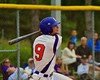 Cortland Crush Julian Gallup (9) at bat against the Syracuse Junior Chiefs on Greg's Field at Beaudry Park in Cortland, New York on Saturday June 20, 2015. Cortland won 4-1.