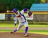 Cortland Crush Crae Watkins (1) pitching against the Oneonta Outlaws on Greg's Field at Beaudry Park in Cortland, New York on Tuesday, June 23, 2015. Oneonta won 7-5.