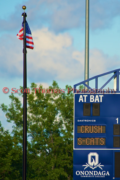 Cortland Crush visited the Syracuse Salt Cats in Syracuse, New York on Monday, June 29, 2015. Cortland won 4-1.