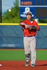 Cortland Crush Matthew Alberino (5) warming up before playing the Syracuse Salt Cats in Syracuse, New York on Monday, June 29, 2015.