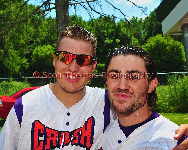 Cortland Crush hosts the Sherrill Silversmiths on Greg's Field at Beaudry Park in Cortland, New York on Saturday, July 11, 2015.