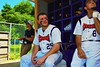 Cortland Crush Zephan Kash (25) in the Dugout against the Sherrill Silversmiths on Greg's Field at Beaudry Park in Cortland, New York on Saturday, July 11, 2015. Cortland won 3-2.