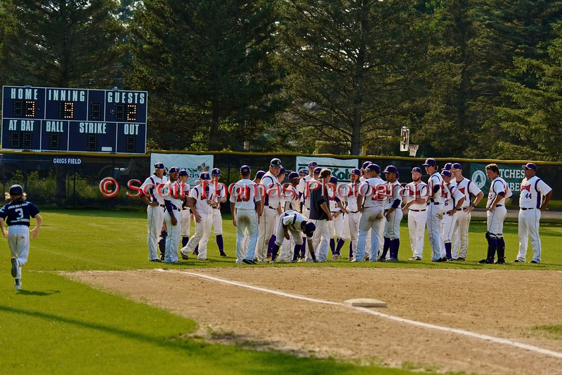 Cortland Crush hosts the Sherrill Silversmiths on Greg's Field at Beaudry Park in Cortland, New York on Saturday, July 11, 2015. Cortland won 3-2.