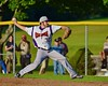 Cortland Crush Nate Verst (32) pitching against the Oneonta Outlaws on Greg's Field at Beaudry Park in Cortland, New York on Thursday, July 23, 2015. Oneonta won 7-3.