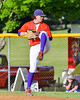 Cortland Crush Shae Edmonds (15) on the mound against the Sherrill Silversmiths on Greg's Field at Beaudry Park in Cortland, New York on Tuesday May 31, 2016. Cortland won 16-3.