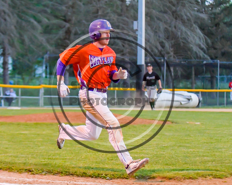 Cortland Crush hosted the Sherrill Silversmiths on Greg's Field at Beaudry Park in Cortland, New York on Tuesday May 31, 2016. Cortland won 16-3.