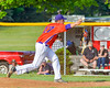 Cortland Crush Stephan Witkowski (17) on the mound against the Sherrill Silversmiths on Greg's Field at Beaudry Park in Cortland, New York on Tuesday May 31, 2016. Cortland won 16-3.