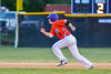 Cortland Crush Patrick Messinger (14) running the bases against the Sherrill Silversmiths on Greg's Field at Beaudry Park in Cortland, New York on Tuesday May 31, 2016. Cortland won 16-3.