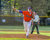 Cortland Crush Stephan Witkowski (17) pitching against the Sherrill Silversmiths on Greg's Field at Beaudry Park in Cortland, New York on Tuesday May 31, 2016. Cortland won 16-3.