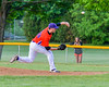 Cortland Crush Tom Cockill (38) on the mound against the Sherrill Silversmiths on Greg's Field at Beaudry Park in Cortland, New York on Tuesday May 31, 2016. Cortland won 16-3.