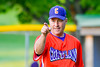 Cortland Crush Manager Bill McConnell calling for a pitching change against the Sherrill Silversmiths on Greg's Field at Beaudry Park in Cortland, New York on Tuesday May 31, 2016. Cortland won 16-3.