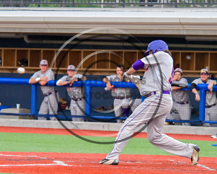 Cortland Crush Anthony Searles (2) visited the Syracuse Junior Chiefs in Syracuse, New York on Thursday June 2, 2016. Cortland won 6-0.