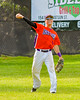 Cortland Crush Joey Assenza (4) throws the ball against the Rome Generals on Greg's Field at Beaudry Park in Cortland, New York on Saturday June 4, 2016. Cortland won 9-5.