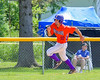Cortland Crush Paul Ludden (10) rounds Third Base against the Rome Generals on Greg's Field at Beaudry Park in Cortland, New York on Saturday June 4, 2016. Cortland won 9-5.