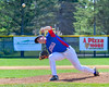 Rome Generals Anthony Cacchione (16) pitching against the  Cortland Crush on Greg's Field at Beaudry Park in Cortland, New York on Saturday June 4, 2016. Cortland won 9-5.