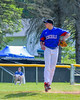 Rome Generals Anothny Krokos (19) pitching against the  Cortland Crush on Greg's Field at Beaudry Park in Cortland, New York on Saturday June 4, 2016. Cortland won 9-5.