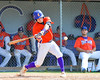 Cortland Crush Anthony Searles (2) swings at a pitch against the Rome Generals on Greg's Field at Beaudry Park in Cortland, New York on Saturday June 4, 2016. Cortland won 9-5.