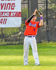 Cortland Crush Joey Assenza (4) catching the ball for an out against the Rome Generals on Greg's Field at Beaudry Park in Cortland, New York on Saturday June 4, 2016. Cortland won 9-5.