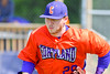 Cortland Crush Derek Martin (29) takes the field before playing the Rome Generals on Greg's Field at Beaudry Park in Cortland, New York on Saturday June 4, 2016.