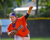 Cortland Crush Clayton Jeffries (42) pitching against the Rome Generals on Greg's Field at Beaudry Park in Cortland, New York on Saturday June 4, 2016. Cortland won 9-5.