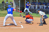 Cortland Crush catcher Anthony Searles (2) behind the plate against the Rome Generals on Greg's Field at Beaudry Park in Cortland, New York on Saturday June 4, 2016. Cortland won 9-5.