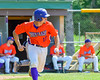 Cortland Crush Paul Ludden (10) heads to First Base agaisnt the Rome Generals on Greg's Field at Beaudry Park in Cortland, New York on Saturday June 4, 2016. Cortland won 9-5.